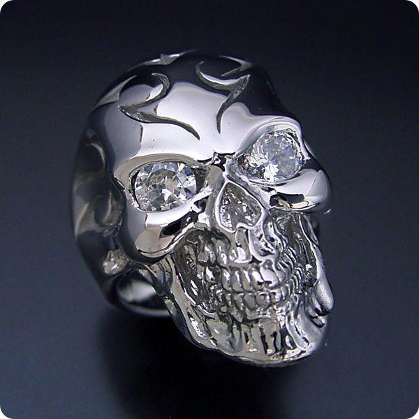 スカルの結婚指輪