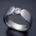 着け心地を最優先した婚約指輪[R3020]