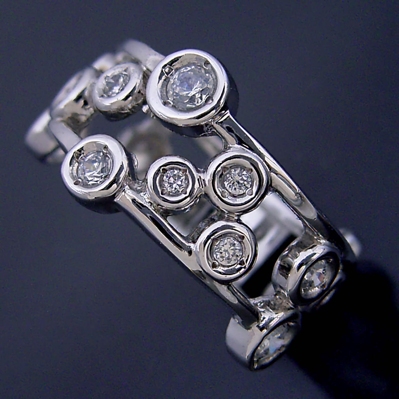 星が輝く指輪
