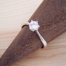 画像2: アームデザインが新しいティファニーセッティングの婚約指輪 (2)