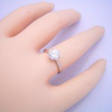 画像6: 1カラット版:6本爪ティファニーセッティングタイプの婚約指輪 (6)