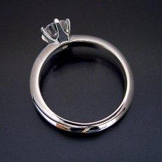 画像7: 1カラット版:どの指輪のデザインとも違う、6本爪ティファニーセッティングタイプの婚約指輪 (7)