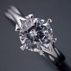 画像3: 1カラット版:アームの処理が新しい婚約指輪 (3)