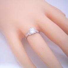 画像5: 1カラット版:アームの処理が新しい婚約指輪 (5)