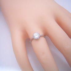 画像6: 1カラット版:フラワーデザイン伏せこみタイプの婚約指輪 (6)