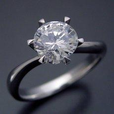画像1: 1カラット版:アームデザインが新しいティファニーセッティングの婚約指輪 (1)