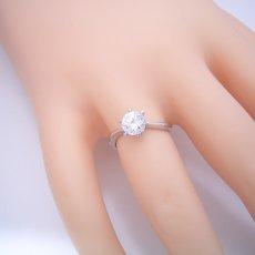 画像5: 1カラット版:アームデザインが新しいティファニーセッティングの婚約指輪 (5)