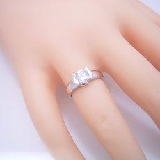 画像5: 1カラット版:ごつしっかり伏せこみタイプの婚約指輪 (5)