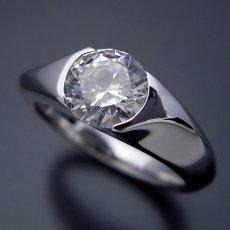画像3: 1カラット版:絶妙なラインを描く婚約指輪 (3)