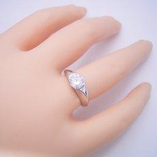 画像6: 1カラット版:絶妙なラインを描く婚約指輪 (6)