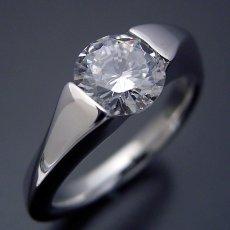 画像3: 1カラット版:もの凄くスタイリッシュなデザインの婚約指輪 (3)