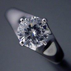 画像4: 1カラット版:雫の王冠をイメージした婚約指輪 (4)