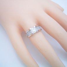 画像5: 1カラットダイヤモンドの大きさを生かした婚約指輪 (5)