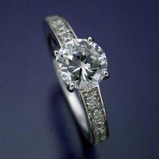 画像5: ブランドジュエリーのエンゲージリングのような婚約指輪 (5)