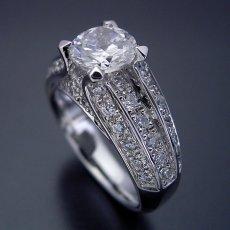画像1: 物凄く豪華な「極(きわみ)」の婚約指輪 (1)