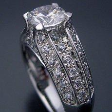 画像3: 物凄く豪華な「極(きわみ)」の婚約指輪 (3)