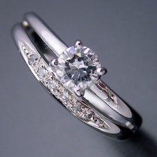 画像3: 1本の指輪なのに重ね着けしているような婚約指輪 (3)