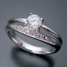 画像4: 1本の指輪なのに重ね着けしているような婚約指輪 (4)