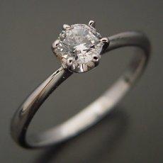 画像3: 6本爪ティファニーセッティングタイプの婚約指輪 (3)