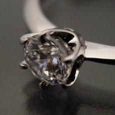 画像5: 6本爪ティファニーセッティングタイプの婚約指輪 (5)