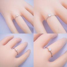 画像7: 6本爪ティファニーセッティングタイプの婚約指輪 (7)