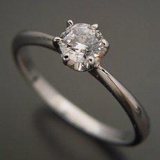 画像4: 6本爪ティファニーセッティングタイプの婚約指輪 (4)