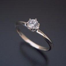 画像3: どの指輪のデザインとも違う、6本爪ティファニーセッティングタイプの婚約指輪 (3)