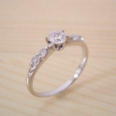 画像4: 6本爪サイド2Pメレデザインの婚約指輪 (4)