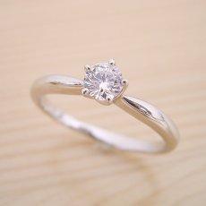 画像2: 珍しい5本爪の婚約指輪 (2)