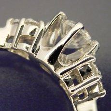 画像3: 6本爪ゴージャスデザインの婚約指輪 (3)