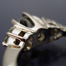 画像4: 6本爪ゴージャスデザインの婚約指輪 (4)