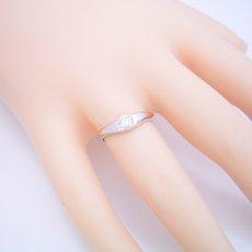 画像5: 少し変わった伏せこみタイプの婚約指輪 (5)