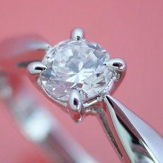 画像2: 4本爪の新しいデザインの婚約指輪 (2)