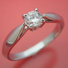 画像4: 4本爪の新しいデザインの婚約指輪 (4)