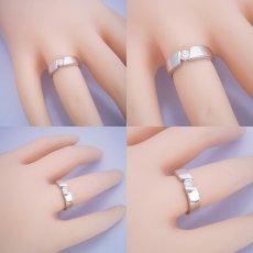 画像5: ゴツくてスタイリッシュな婚約指輪 (5)