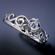 画像2: ティアラがモチーフの結婚指輪 (2)