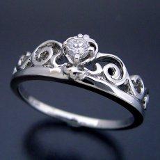 画像3: ティアラがモチーフの結婚指輪 (3)