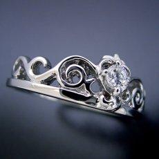 画像4: ティアラがモチーフの結婚指輪 (4)