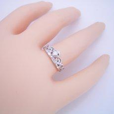 画像5: ティアラがモチーフの結婚指輪 (5)