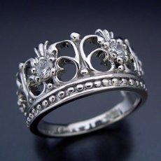 画像3: 豪華な王冠(クラウン)デザインの結婚指輪 (3)