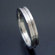 画像4: シンプルなラインの結婚指輪 (4)