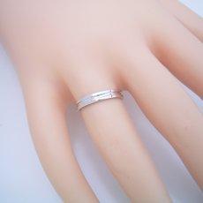 画像5: シンプルなラインの結婚指輪 (5)