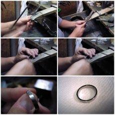 画像10: 婚約指輪・結婚指輪 ブライダルリングセット「天使の羽デザイン6本爪の婚約指輪」 (10)
