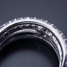 画像4: パヴェセッティングと甲丸リングを組み合わせた婚約指輪 (4)