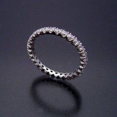 画像4: 最高品質のダイヤモンドで作るフルエタニティリング (4)