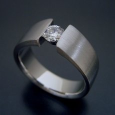 画像4: ワイドなアームの婚約指輪「極 type Book」 (4)