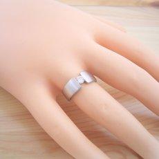 画像6: ワイドなアームの婚約指輪「極 type Book」 (6)