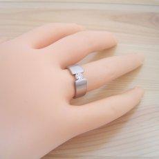 画像7: ワイドなアームの婚約指輪「極 type Book」 (7)