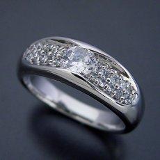 画像1: メレダイヤモンドも主役の婚約指輪 (1)