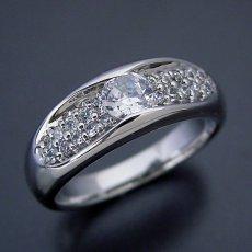 画像2: メレダイヤモンドも主役の婚約指輪 (2)